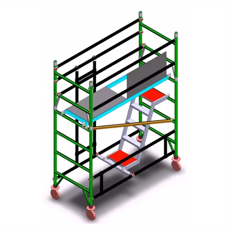 Industrial Aluminium Scaffolding Tower